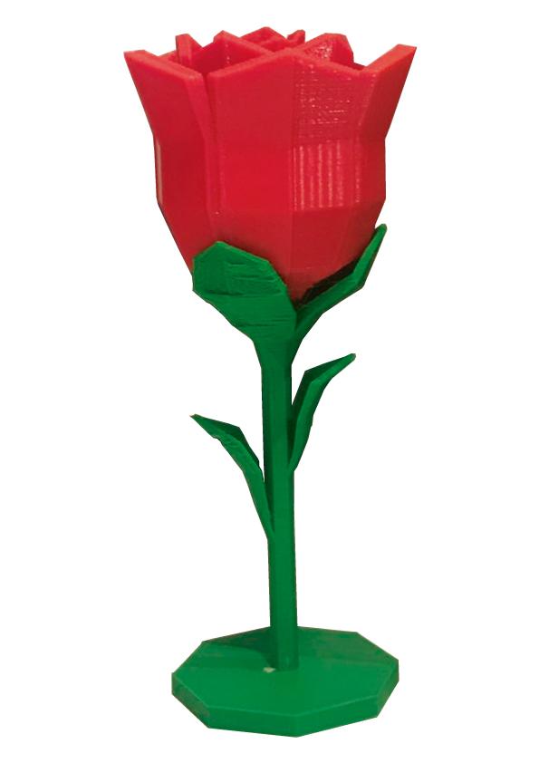 rosa 3d Rosa Sant Jordi 3D