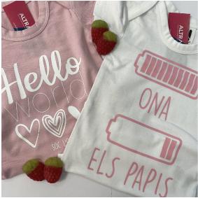 Body bebe rosa 2 Body personalizado bebé