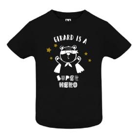 super heroe oso Camiseta infantil Oso Super Hero